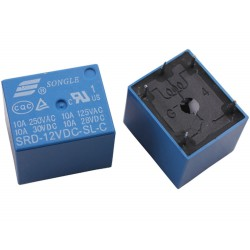12V Power Relay 250Vac, 10A