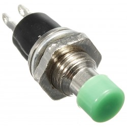 Push Button Switch N/O Green