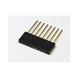 8 Way SIL PCB Female Socket...
