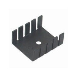TO-220 Black Heatsink