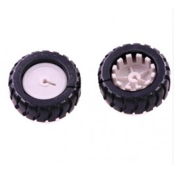 D-Hole Rubber Wheel