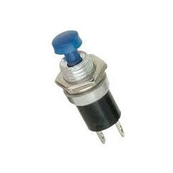 Push Button Switch N/O Blue