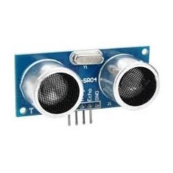 HC-SR04 ultrasonic sensor...