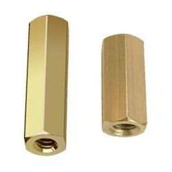 20mm Hex Brass Spacer