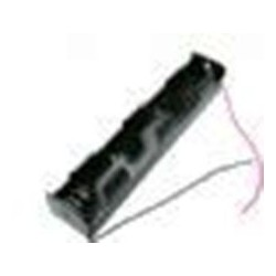 D Cell Battery Holder